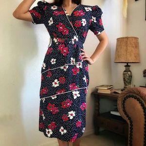 Vintage 100% Cotton Dress